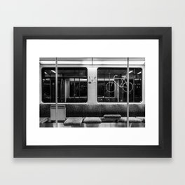 Berlin S-Bahn Framed Art Print