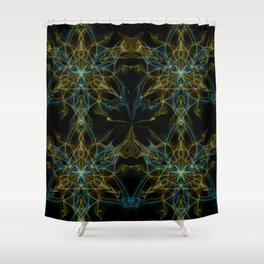 Fated Future Friendly Shower Curtain