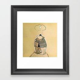 Loving Embrace Framed Art Print