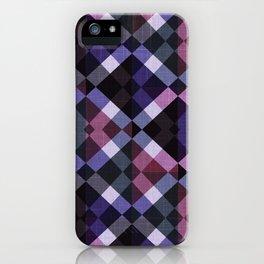Retro Box Pattern Small iPhone Case