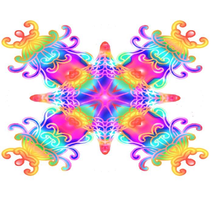 Colours Colours Duvet Cover