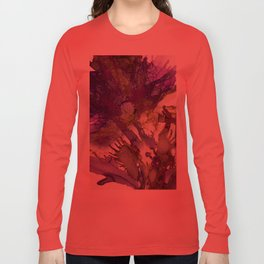 Exotic Purple Flower Long Sleeve T-shirt