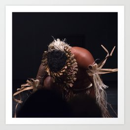 Tahitian Dancer Art Print