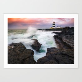 Hook Head Lighthouse (RR 205) Art Print