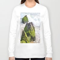 sublime Long Sleeve T-shirts featuring Sublime Slime by Kim Ramage