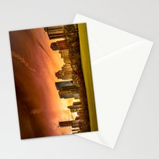 Sunset over Midtown Manhattan Stationery Cards