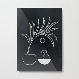 Minimal Abstrat Art 12 Metal Print