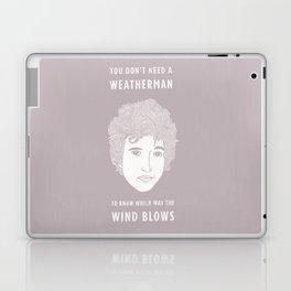 Bob Dylan - You don't need a weather man Laptop & iPad Skin