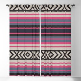 American Native Pattern No. 151 Blackout Curtain