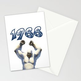 1988: The Yeti Edition Stationery Cards