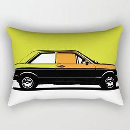 Pop ART car Rectangular Pillow