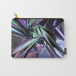Abstract Metallic Reflections Carry-All Pouch