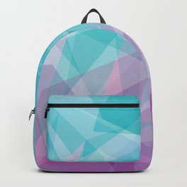 Stained Glass - Blue Purple Backpack