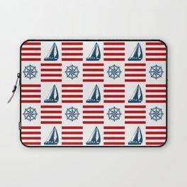 Nautical pattern Laptop Sleeve