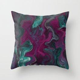 Deep Space Spill Throw Pillow