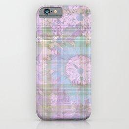 Pastel Flower Digital Collage iPhone Case