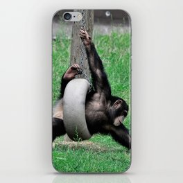 Playful youngster iPhone Skin