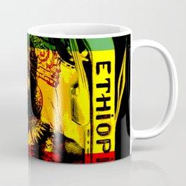 Haile Selassie Lion of Judah Coffee Mug