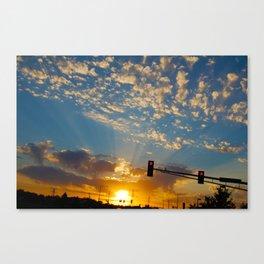 Stillwater Sunset Canvas Print