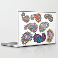 paisley Laptop & iPad Skins featuring Paisley by WelshPixie