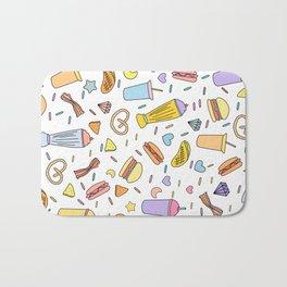 Fast food & Shakes Bath Mat