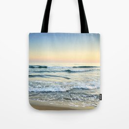 Serenity sea. Vintage. Square format Tote Bag