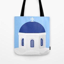 Santorini #02 Tote Bag