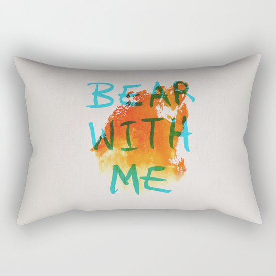 Bear With Me Rectangular Pillow