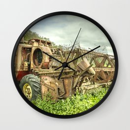 The abandoned Combine Wall Clock