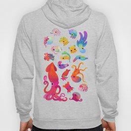 Cephalopod - pastel Hoody