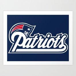 Patriots Logo  Art Print