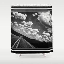 204   hill country Shower Curtain