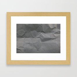 Black Paper Texture Background Framed Art Print