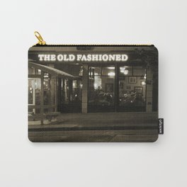 Old Fashioned Restaurant Madison Wisconsin Sepia Photo Carry-All Pouch