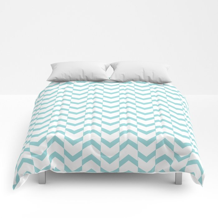 Limpet shell chevron  Comforters