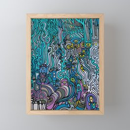 THE AFTERPARTY Framed Mini Art Print