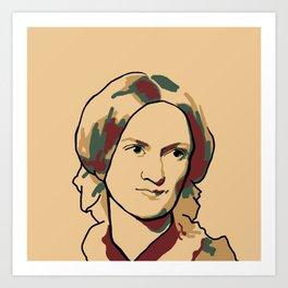 Charlotte Brontë Art Print
