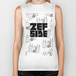Zef Side Design Biker Tank