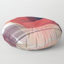 Abstract 391 Floor Pillow