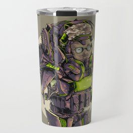 heavy cyborg army Travel Mug