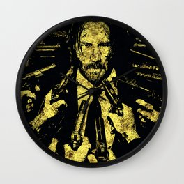 John Wick - The Legend Wall Clock