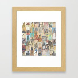The People Want To Know Framed Art Print