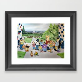 Heroes Journey Framed Art Print