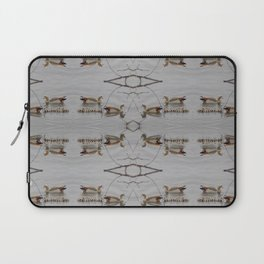 Egyptian Geese with Babies Laptop Sleeve