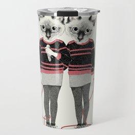 siamese twins Travel Mug