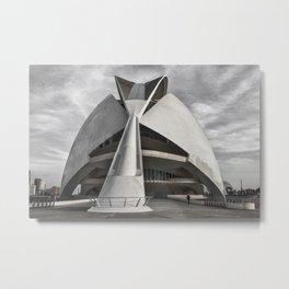 City of Arts and Sciences I | C A L A T R A V A | architect | Metal Print