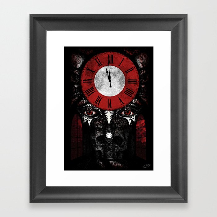 """The Masque of the Red Death"" - Edgar Allan Poe Series Framed Art Print"