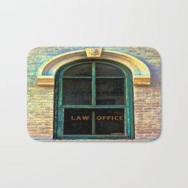Law Office Bath Mat