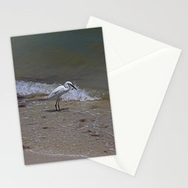 Lunchtime on Sanibel Stationery Cards