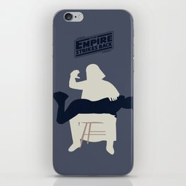 Empire strikes back iPhone Skin